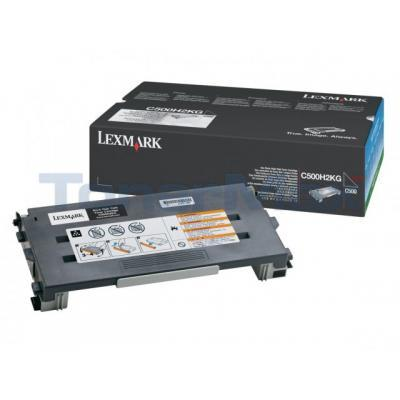 LEXMARK X500 X502 TONER CARTRIDGE BLACK 5K
